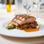 Salmon Dish at Shadows