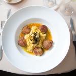 Seasonal fresh scallop dishes