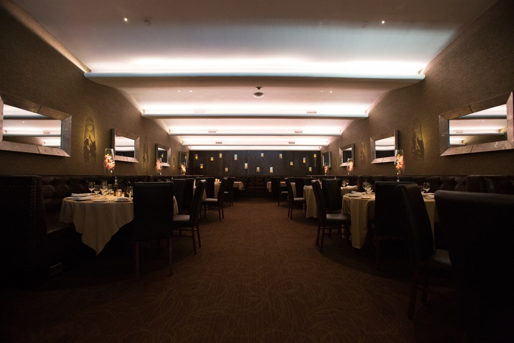 The Sunset Room is one of our popular dining spaces