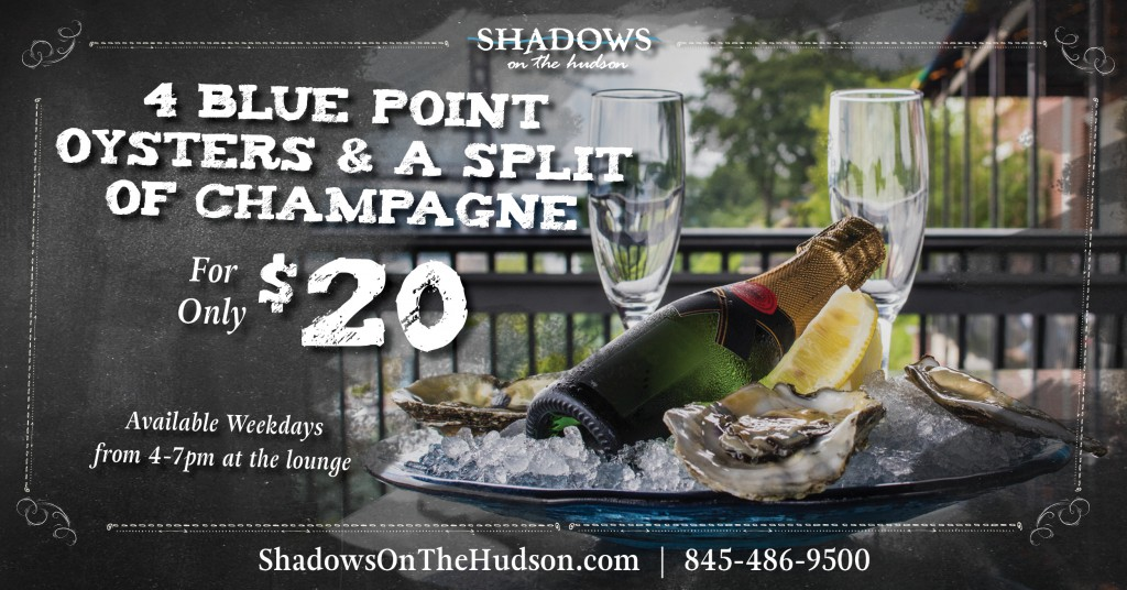 Shadows on the Hudson Happy Hour Special
