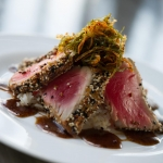 Shadows is known for gourmet dishes such as this Ahi Tuna
