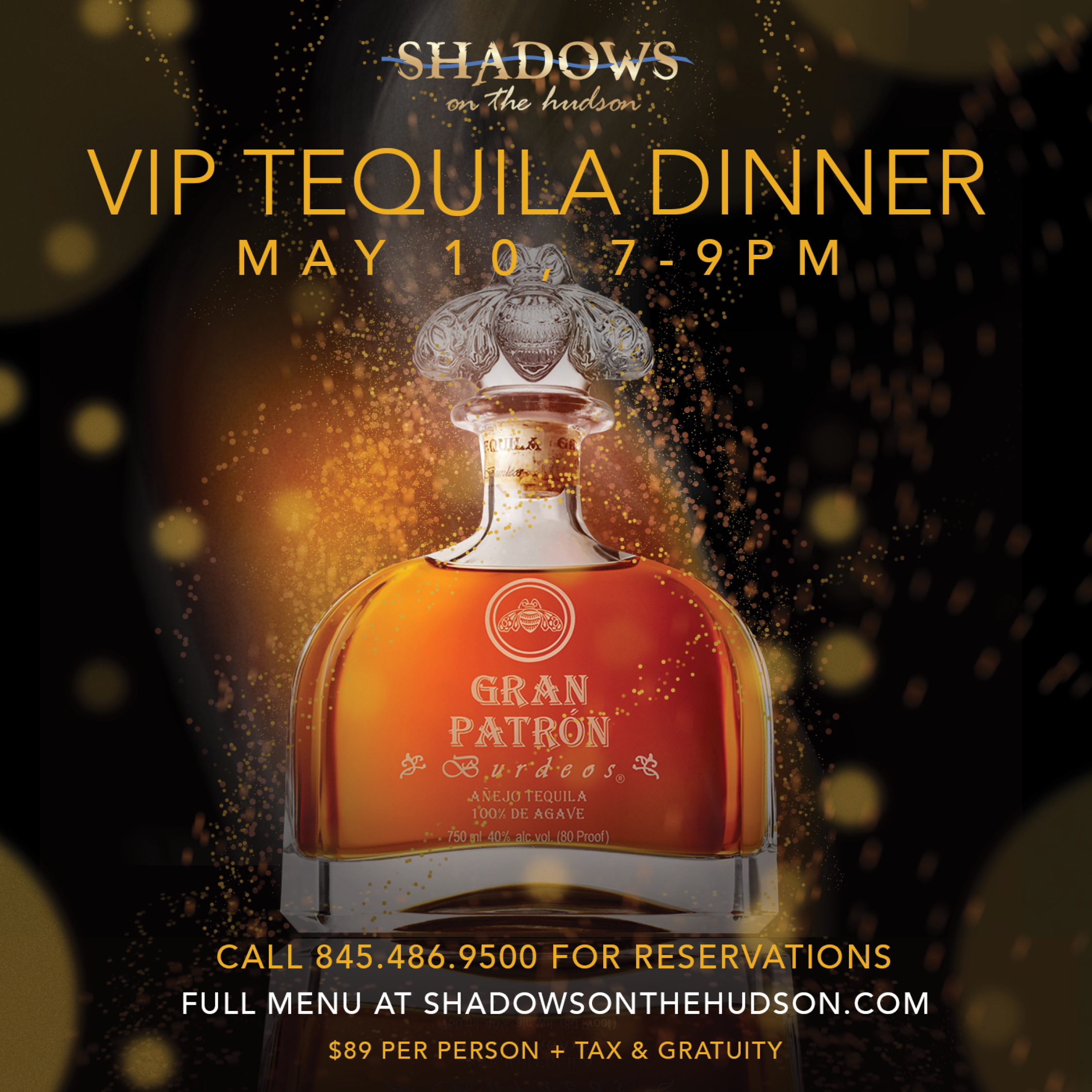 Shadows on the Hudson Tequila Dinner